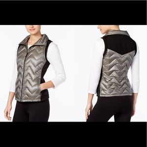 NWT Calvin Klein Performance Chevron Down Vest